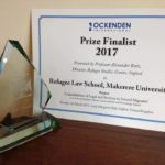 OCKENDEN Prize Award