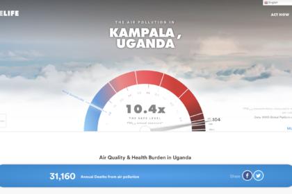 Air Quality & Health Burden in Uganda