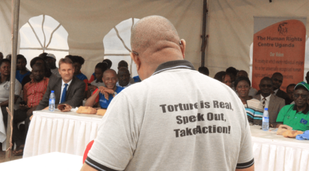 Torture is Real, Speak Up