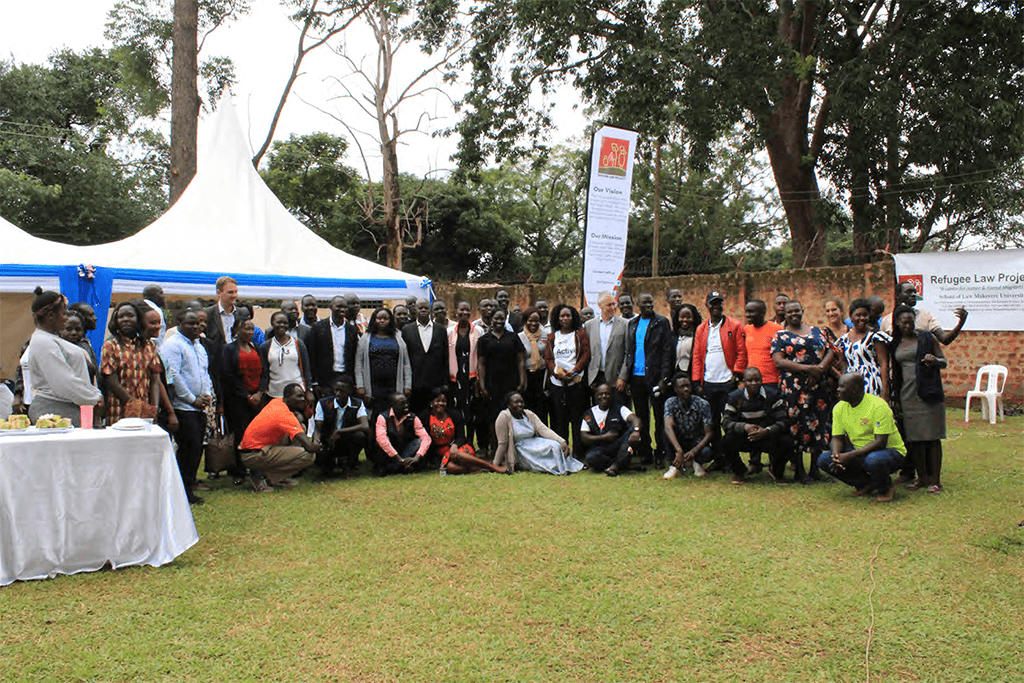 Group photo after the launch of the project