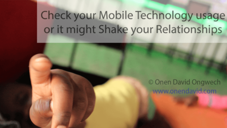 Check your Mobile Technology usage or it might Shake your Relationships - cover photo