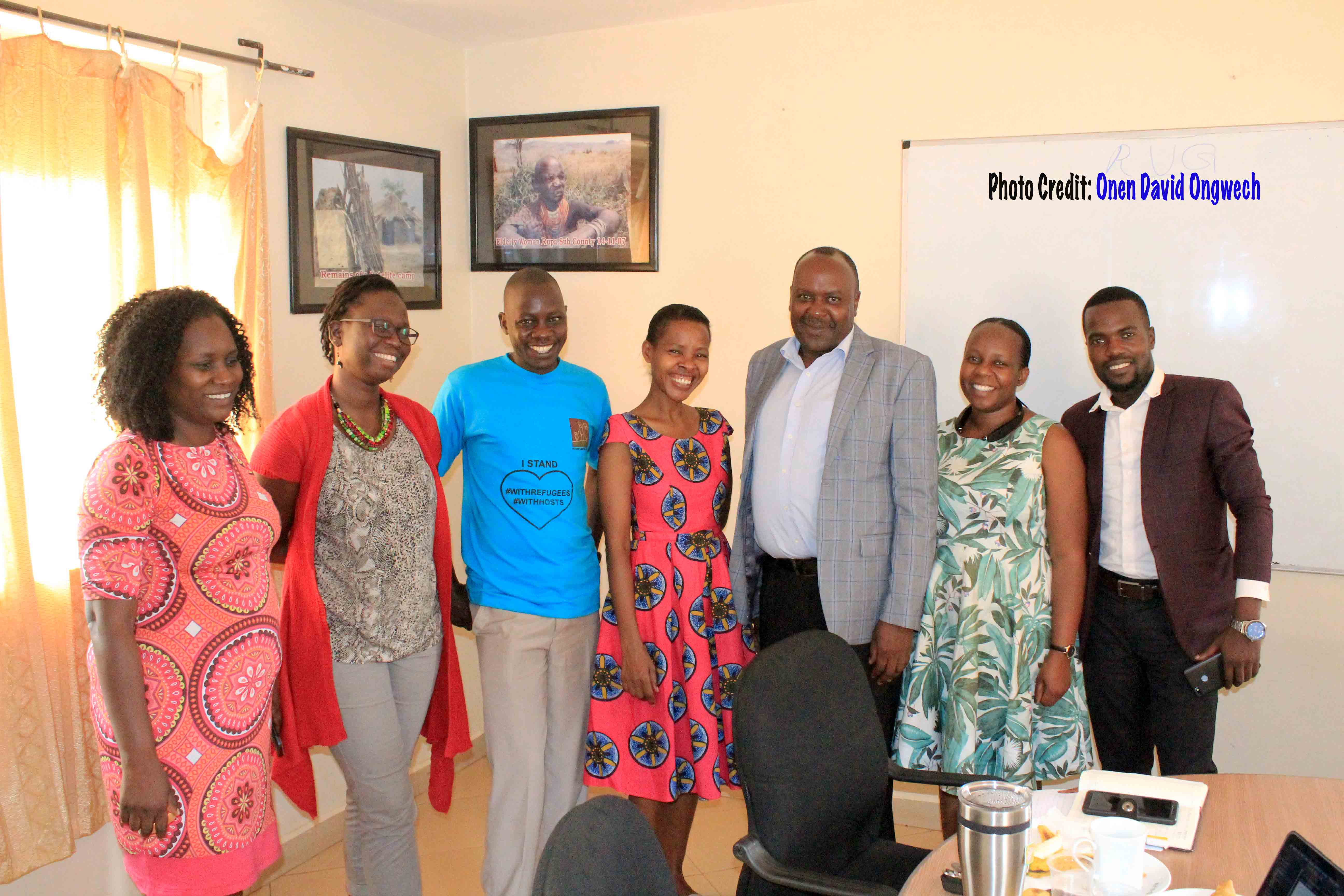 RLP staff meets with leadership of Uganda Counselling Association