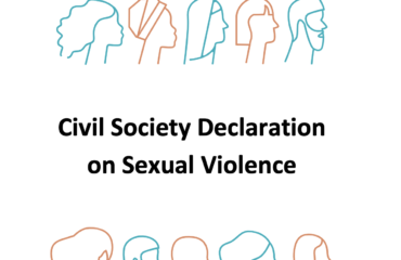 Civil Society Declaration on Sexual Violence 2019