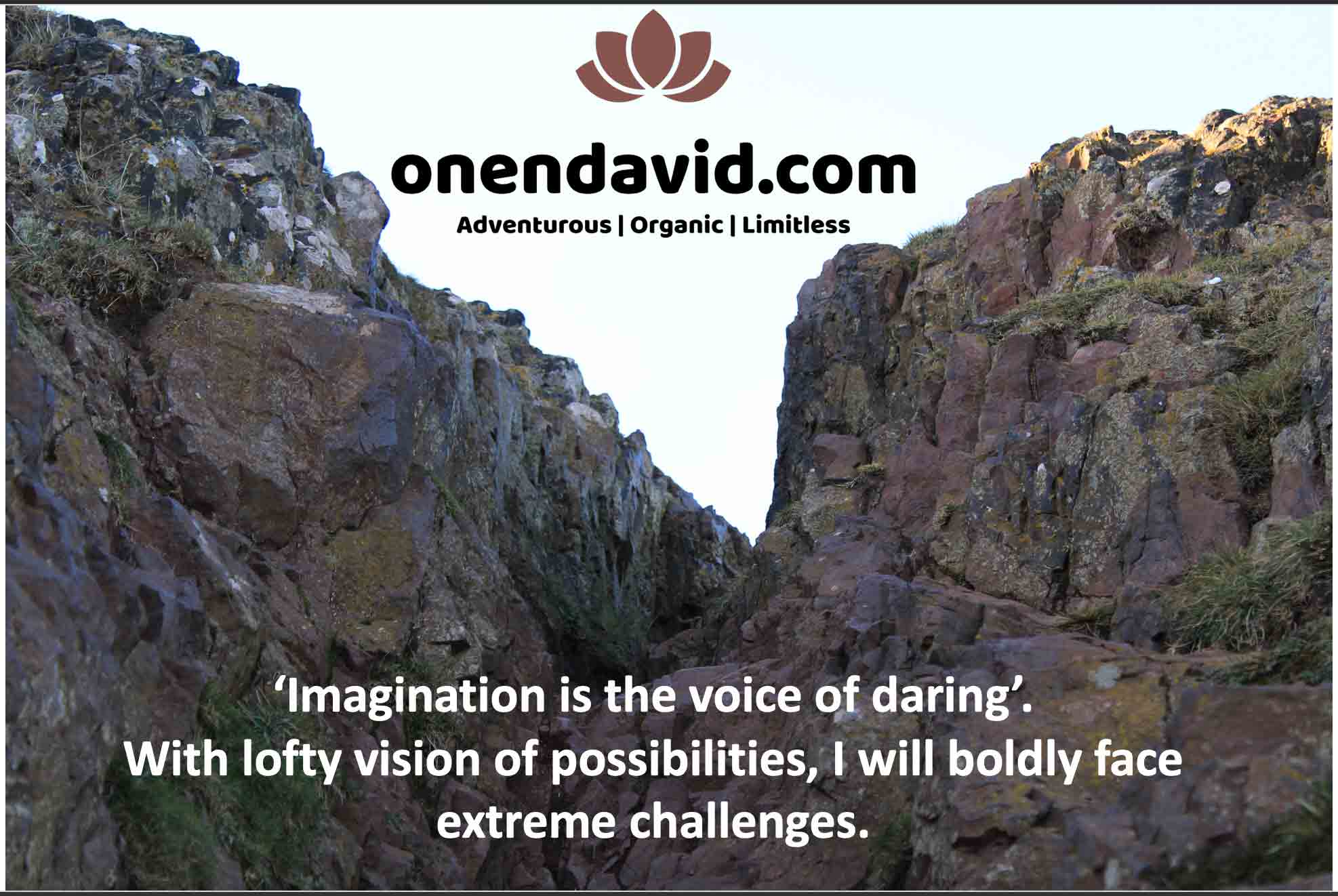 'Imagination is the voice of daring': Daring extreme challenges in 2020 and the years to come