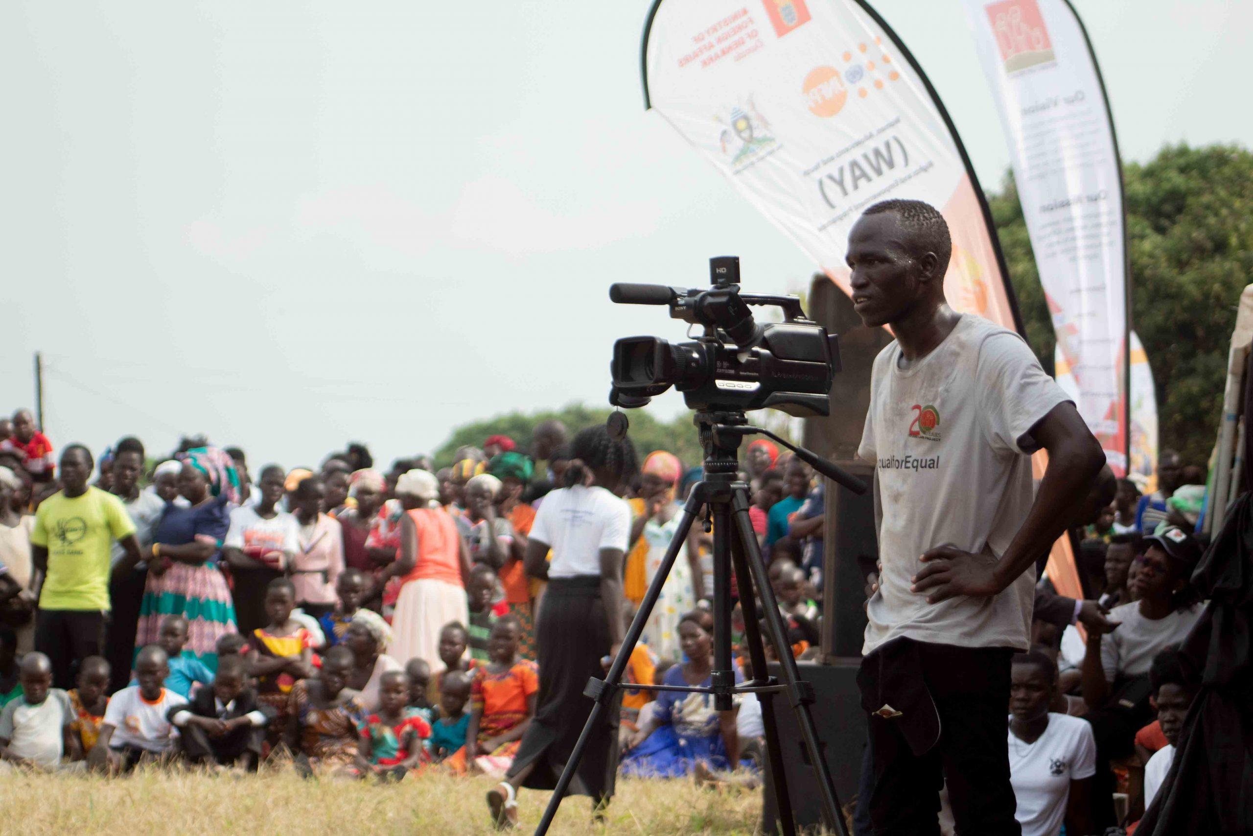 Video Advocate with Camera_onendavid.com